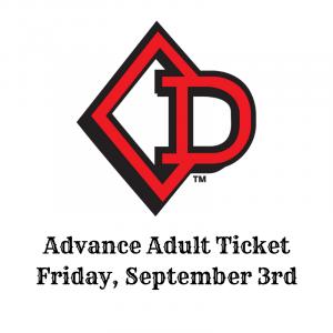 22nd Annual PBR Invitational Jerome Davis Friday Adult Ticket